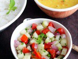 Kachumber Salad Recipe | Indian Cucumber Onion Tomato Salad