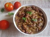 Rajma Coconut Curry | Red Kidney Beans Coconut Curry