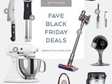2018 Favorite Black Friday Deals Gift Guide