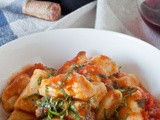 Homemade Gnocchi with Tomato Basil Sauce