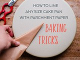 How to Line Any Size Cake Pan with Parchment Paper