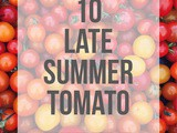 Late Summer Tomato Recipes