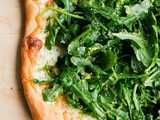Lemon Truffle Arugula Pizza