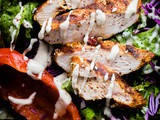 Mediterranean Chicken Salad with Sumac Dressing