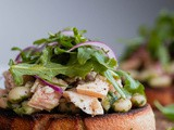 Mediterranean Tuna Tartines (with Video!)