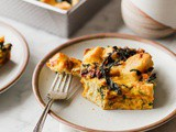Overnight Vegetarian Breakfast Strata