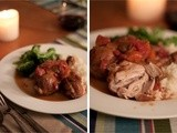 Red Wine & Tomato Braised Chicken