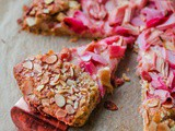 Rhubarb Galette with Orange Frangipane