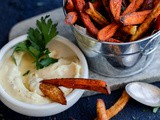 Spiced Sweet Potato Fries with Garlic Aioli
