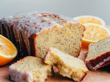 Whole Grain Olive Oil-Poppy Seed Loaf with Meyer Lemon Glaze