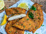 Baked Parmesan Chicken Cutlets (Keto Recipe)