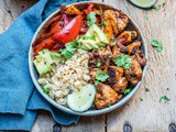 Chipotle Chicken Bowl With Cauliflower Rice – Paleo/Whole30 Recipe