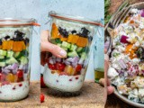 Greek Mason Jar Salad – Recipe Video