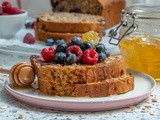 Healthy Blueberry Oatmeal Bread Recipe