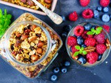 Homemade Chocolate granola recipe. 9 Benefits of granola that you probably didn't know about