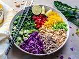 Vegan Thai Rice Salad – Recipe Video