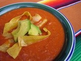 Celebrating My Husband with Tortilla Soup