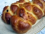 Celebrating Shabbat with Chocolate Chip Challah