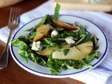 Collard Greens with Pickled Pears