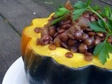 Lentils and Apples with Acorn Squash: a Fall Staple at Hillel