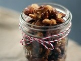Maple Roasted Nuts: Gifts from Home