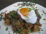 Mushroom Ragout with Poached Eggs and a New Love In My Kitchen