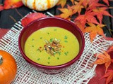 Pumpkin Soup for Halloween