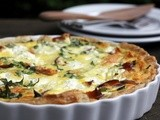 Smoked Salmon, Vegetable and Ricotta Quiche: Puff Pastry at Brunch