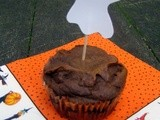 Sweet Potato Molasses Muffins: a Visit with Friends (and Halloween Festivities)