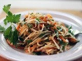 Turnip & Carrot Slaw: Discovering New Tastes