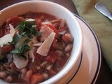 White Bean and Vegetable Soup for a Winter Supper