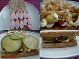 Hot Dog Style Sandwich