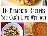 16 Pumpkin Recipes You Can't Live Without