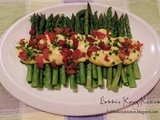 Asparagus with Bacon Sabayone