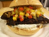 Blackened Tilapia Sandwich with Cilantro Lime Mayonnaise
