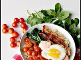 Brown Rice blt Bowls