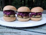 Crispy Salmon Sliders with Lemon Dill Slaw