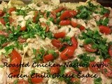 Food Star Friday - Chicken Nachos with Green Chili Cheese