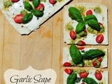 Garlic Scape Pesto Flatbread