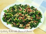 Garlicky Kale with Beans and Bacon