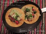 Grilled Fish Tacos with Cilantro Lime Cream