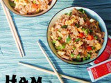 Ham Fried Rice #SundaySupper