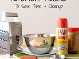Kitchen Hacks to Save Time and Cleanup