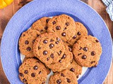 Low Carb Pumpkin Chocolate Chip Cookies