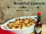 Make Ahead Chipotle Breakfast Casserole Holiday Brunch Party Recipe