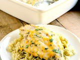 Oven Baked Creamy Green Chile Chicken