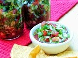 Pico de Gallo for a Saving Summer #SundaySupper