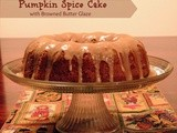 Pumpkin Spice Bundt Cake with Brown Butter Glaze