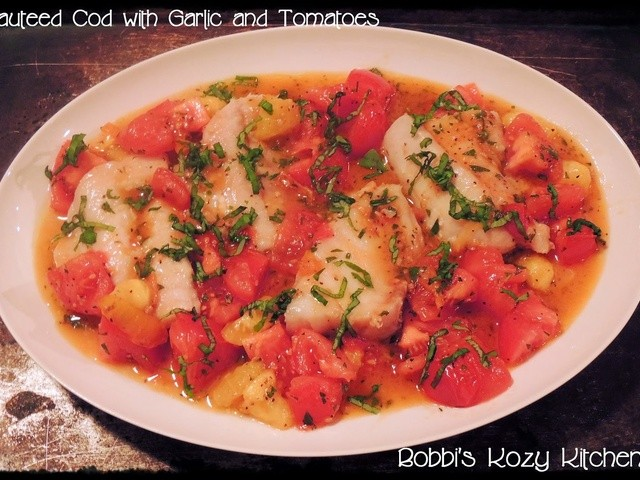 Very Good Recipes of Cod and Tomatoes