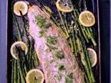 Sheet Pan Salmon and Asparagus